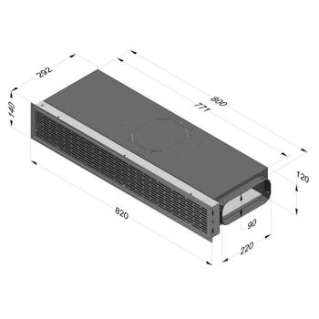 NOVY 7900 400 Umluftbox