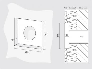 weibel mauerkasten wmk u k001 cookone. Black Bedroom Furniture Sets. Home Design Ideas